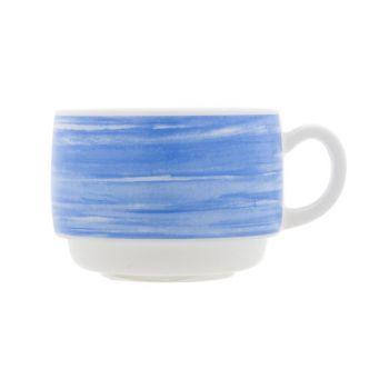 Arcoroc Brush Mug Blue 19cl Horeca