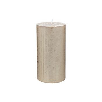 Cosy & Trendy Rustic Candle Cylindre Met. Gold