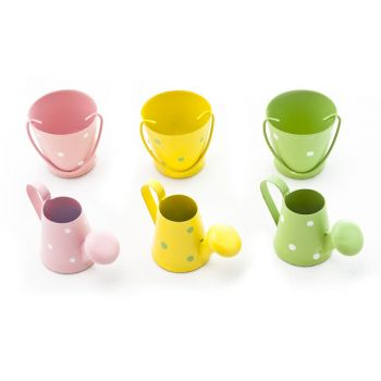 Cosy @ Home Bucket-watering Can Set6 Metal 3x5cm