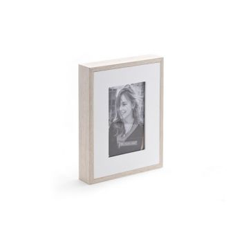 Cosy @ Home Photo Frame 10x15cm Wood Nature White