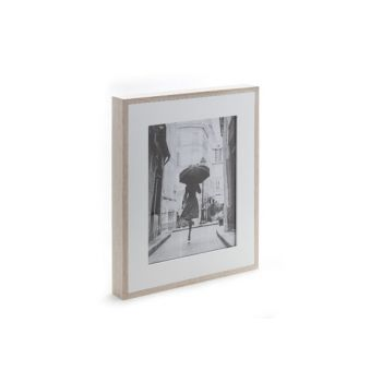 Cosy @ Home Photo Frame 20x25cm Wood Nature White