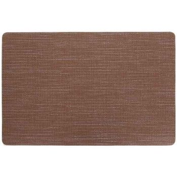Cosy & Trendy Placemat Vinyl Brown 43,5x28,5cm