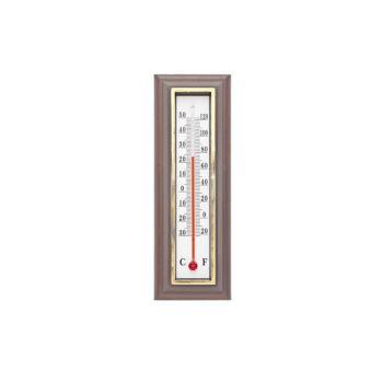 Cosy & Trendy Thermometer Dark Brown 5.5xh16cm