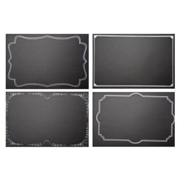 Cosy @ Home Chalkboard Placemat Set4 46x31cm