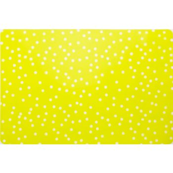 Cosy & Trendy Peva Printed Placemat Green Spotted