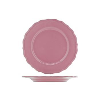 Cosy & Trendy Juliet Pink  Plate Service Bright D28cm