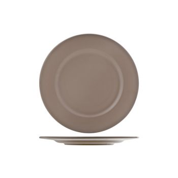 Cosy & Trendy Inci Plate Service Mat Taupe  D28cm