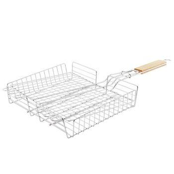 Cosy & Trendy Grill Grill Basket Inox 27x32-58cm