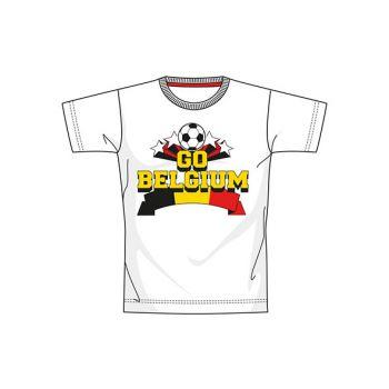 Ek 2021 Belgium S12 T-shirt White Youth