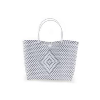 Cosy @ Home Bag Trendy White Silver 36x15xh50cm