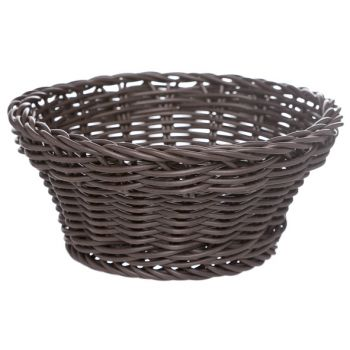 Cosy & Trendy For Professionals Ct Prof Basket Brown Round D15xh7cm