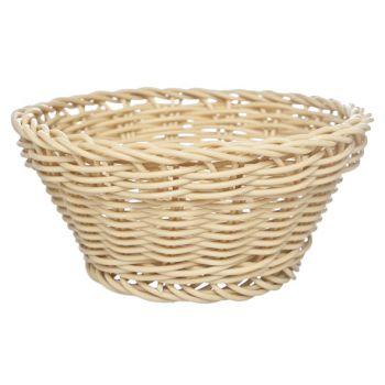 Cosy & Trendy For Professionals Ct Prof Basket Naturel Round D15xh7cm