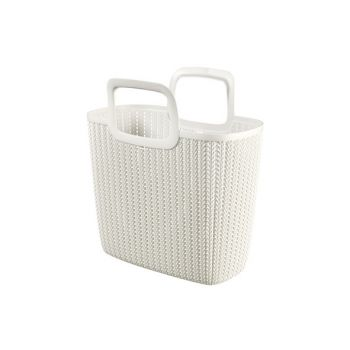 Curver Knit Lily Shopping Bag Oasis White