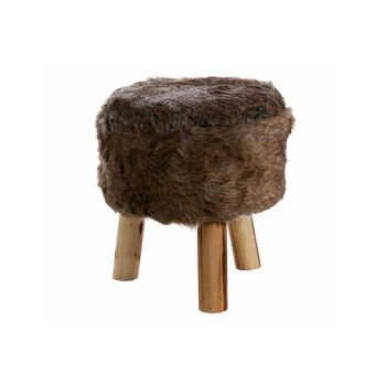 Cosy @ Home Crutch Brown Fur 30x30x35cm