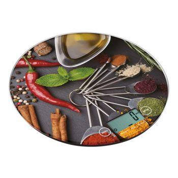 Cosy & Trendy Kitchen Scale Round D18.5cm 5kg-1gr 3v