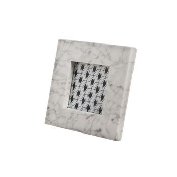 Cosy @ Home Photoframe 10x10 Marble White 17x17cm