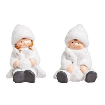 Cosy @ Home Child W Snowball White 14x12x16cm 2 Types