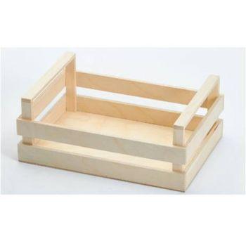 Bisetti Wood Box  M  25x18x10cm