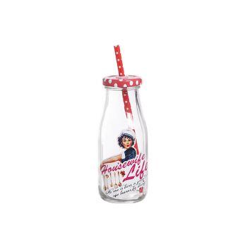 Cosy & Trendy Milk Bottle 'housewife Life D6.5xh15cm