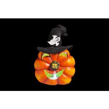 Cosy @ Home Pumpkin W Hat Led Light 11x7x12cm