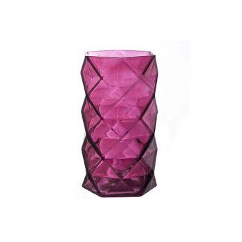 Cosy @ Home T-lighth Geometr Burgundy 11x11x19.3cm