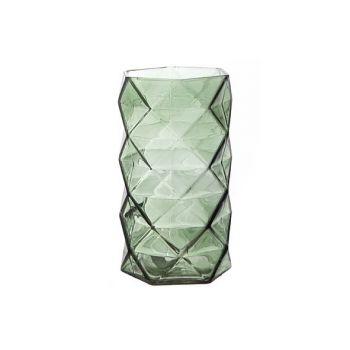 Cosy @ Home T-lighth Geometric Green 11x11x19.3cm