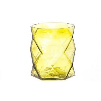 Cosy @ Home T-lighth Geometric Moss-green 8x8x9cm