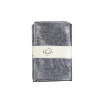 Cosy @ Home Deco Fabric Glamour Dark Silver 1.5x3m