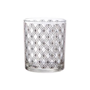 Cosy @ Home Tealightglas Window Copper D9xh10cm