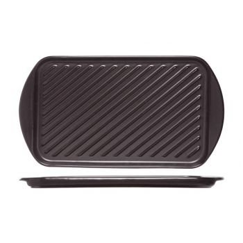 Cosy & Trendy Grill Plate Black 40.5x22.5xh2.1cm