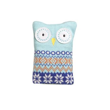 Cosy & Trendy Pillow Pitfall Owl 16x20cm