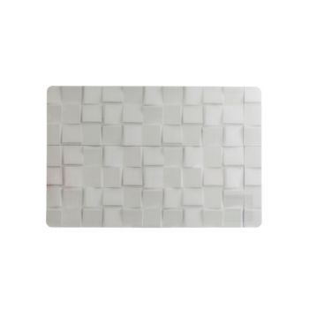 Cosy & Trendy Table Mat Stone Look White 43.5x28.5cm