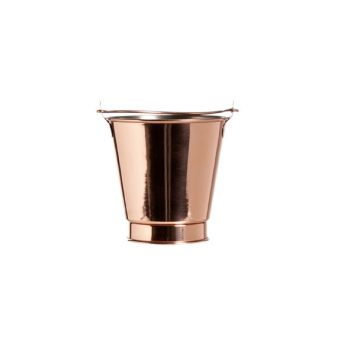 Cosy & Trendy French Fries Bucket Copper-ss  D10xh10cm