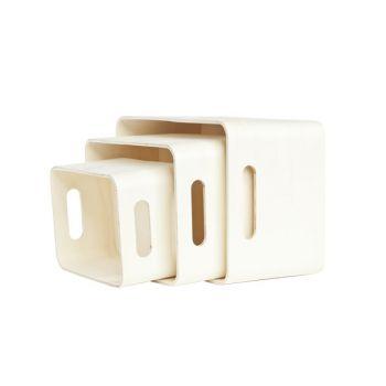 Cosy & Trendy Set3 Storage Box Ply Wood 33x25x19cm