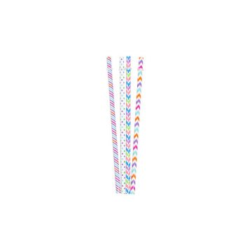 Cosy & Trendy Straw Mix Re-usable L23cm Set 4
