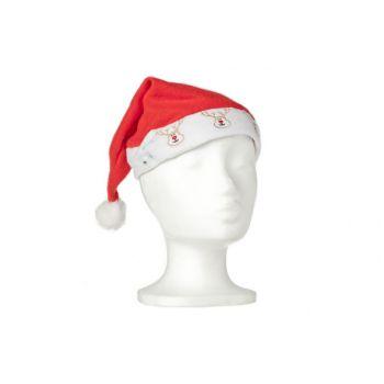 Goodmark Xmas Hat With Fibre Optic Light Reindeer