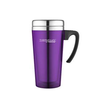 Thermos Soft Touch Travel Mug Purple 420ml