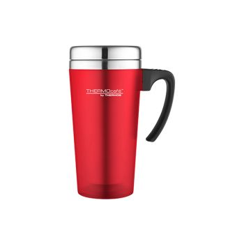 Thermos Soft Touch Travel Mug Red 420ml