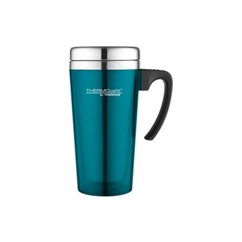 Thermos Soft Touch Travel Mug Teal 420ml
