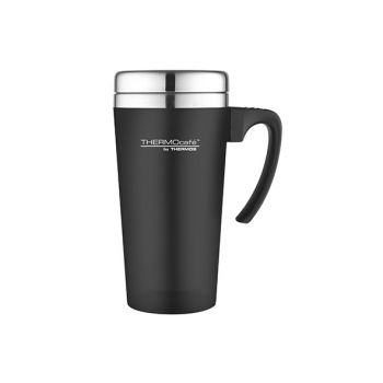Thermos Soft Touch Travel Mug Black 420ml