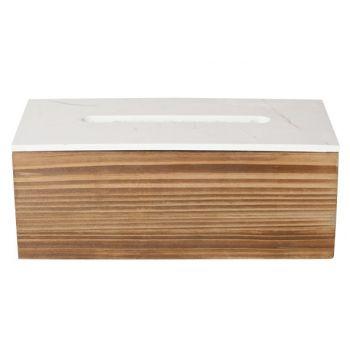 Cosy & Trendy Storage Box Kleenex Wood 25x12x10cm