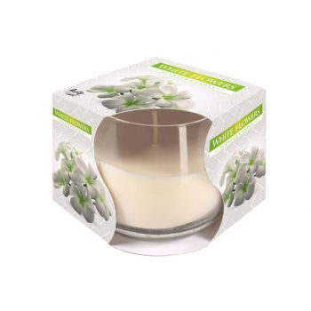 Cosy & Trendy Ct Scented Candle Glass White Flowers
