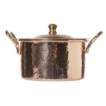 Cosy & Trendy Caserole With Lid - Copper D11.5cm