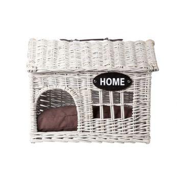 Cosy & Trendy Ratan House Cat-dog 'home' 54x39xh44cm