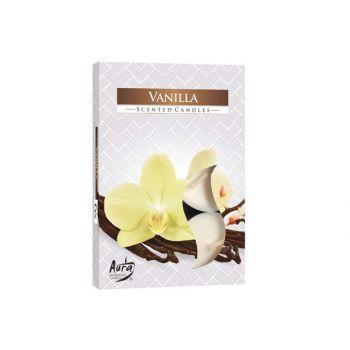 Cosy & Trendy Ct Set 6 Tea Light Vanilla 4h