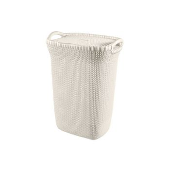 Curver Knit Washbox 57l Oasis White