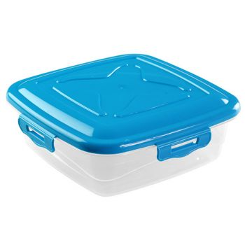 Hega Hogar Lunch Box 4 Clips 0.25l   Set2 - 3 Types