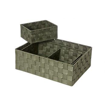 Cosy & Trendy Expert Basket Kaki Set4rect Nylon 35x25x