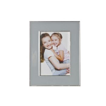 Cosy @ Home Photoframe Grey Metal 13.5x17cm