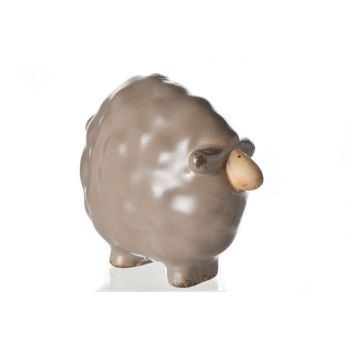 Cosy @ Home Dolly Sheep Brown Ceramic 11x6x9cm
